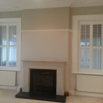 Shutters in Silk White 63mm louvres