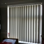 Vertical Blind in Home Study