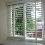 White Wood Venetians