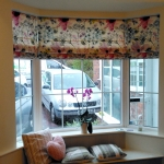 Floretta Berry Roman Blinds