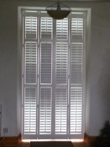 Patio Doors with Shutters