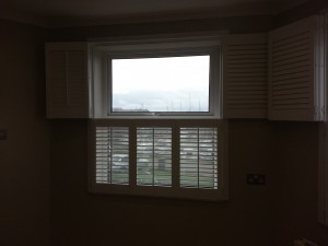 Beautiful and practical, Tier on tier shutters are very versatile, you can have the benefit of the top tier being open whilst retaining your privacy and enjoying your view and the daylight.